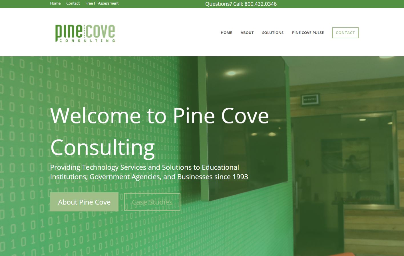 Introducing the New Pine Cove Consulting Website